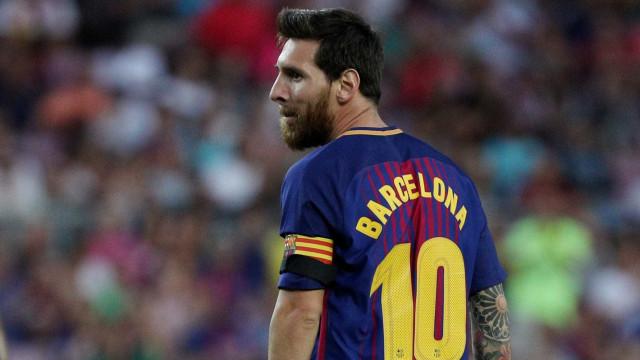 Messi só vai renovar com o Barça se o clube contratar reforços de peso