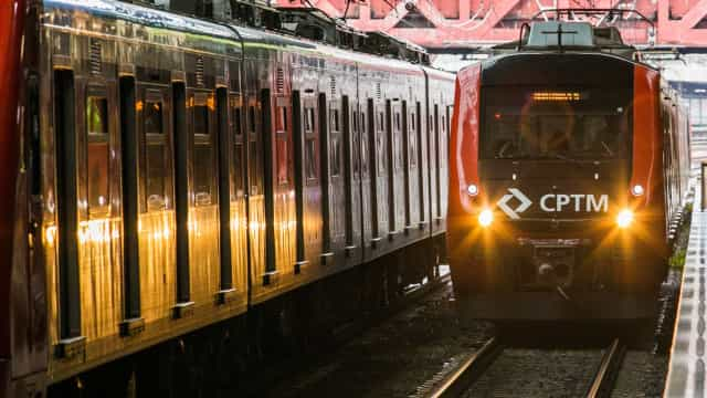 Obras de manutenção interrompem circulação de trens da CPTM