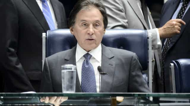 Eunício diz que não garante quorum para votar mudança na meta fiscal