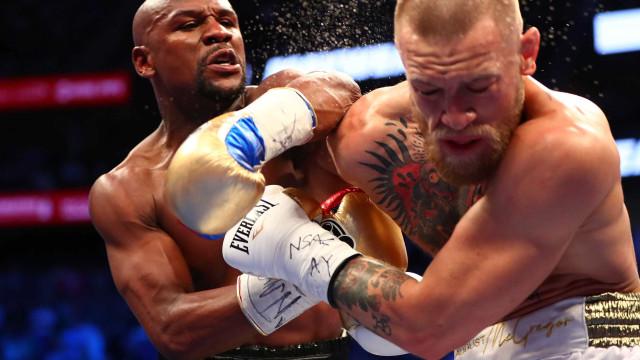 Luta entre Mayweather e McGregor foi vista por 100 mi de forma pirata