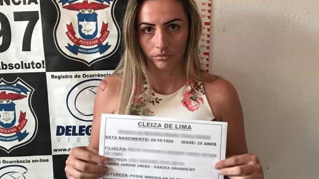 Mulher é presa suspeita de cometer crimes a mando do marido