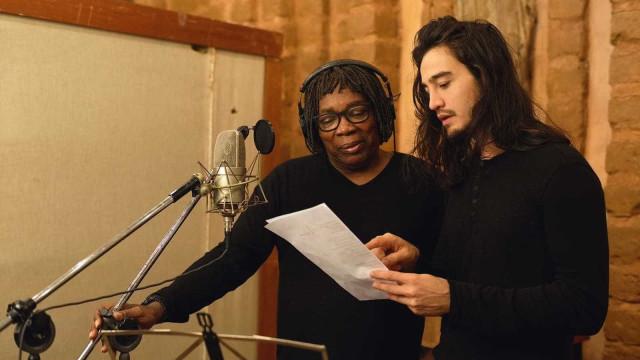 Milton Nascimento grava música inédita com Tiago Iorc