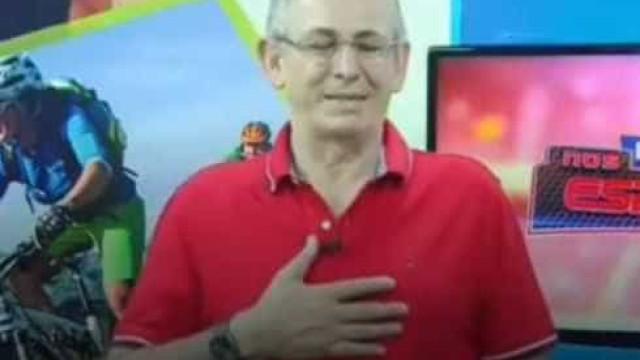 Após sofrer aneurisma ao vivo, apresentador da Record está na UTI