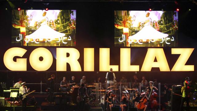 Banda Gorillaz faz show no Brasil pela primeira vez em março de 2018