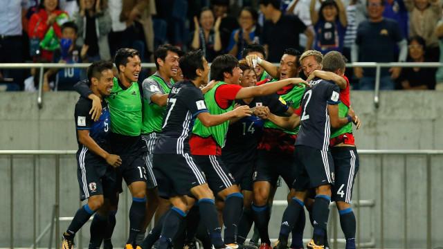 Japão vence Austrália e se classifica para Copa do Mundo da Rússia