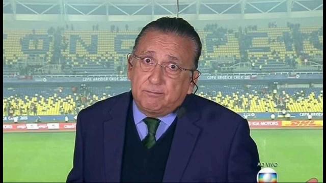 Galvão Bueno anuncia possível parada na narração após Copa da Rússia