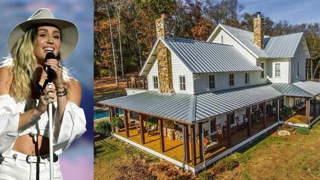 Miley Cyrus compra fazenda de US$ 5,8 milhões no Tennessee