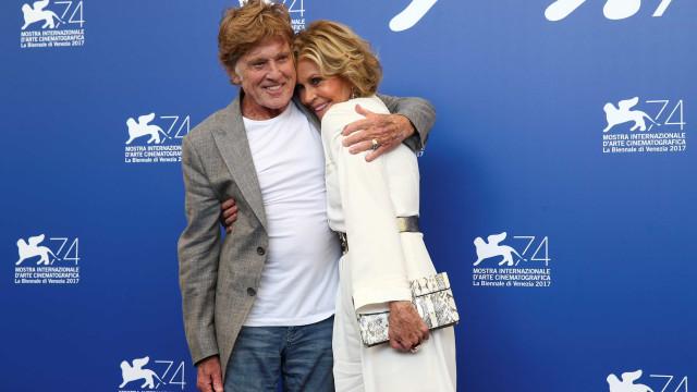 Jane Fonda e Robert Redford são homenageados no Festival de Veneza