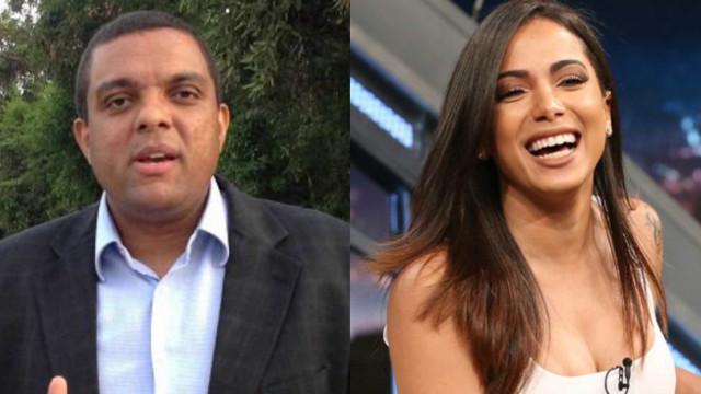 Vereador evangélico questiona se Anitta é cantora ou garota de programa