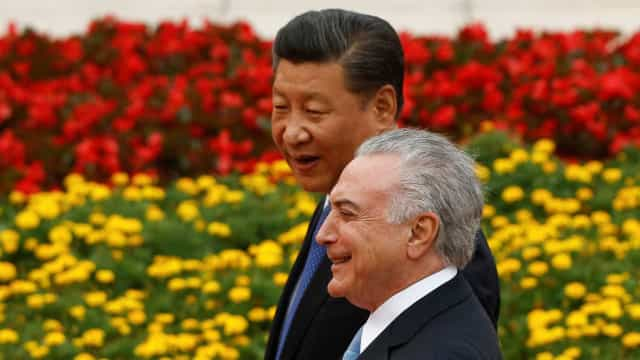 Presidente chinês diz que é 'garoto propaganda' da carne brasileira