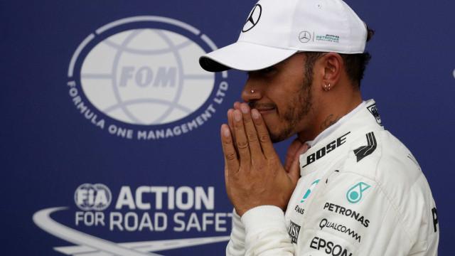 Hamilton é pole no GP da Itália e bate recorde histórico de Schumacher