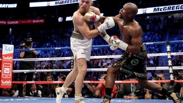 Após ganhar milhões, McGregor admite que luta com Floyd foi um 'circo'