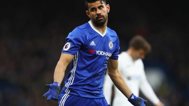 Chelsea estuda mover processo milionário contra Diego Costa