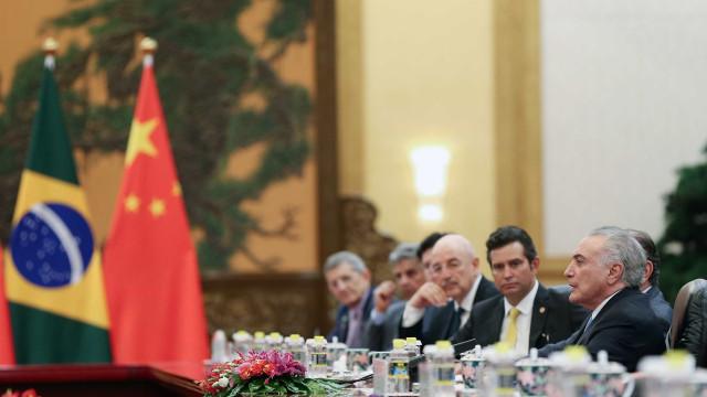 Na China, Temer atribui queda do desemprego a reforma trabalhista