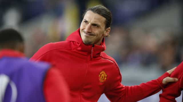 Manchester United inscreve Ibrahimovic na Champions League