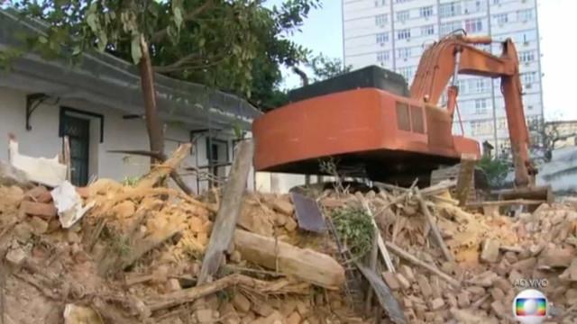 Polícia investiga demolição de casarão com diversos gatos no Maracanã