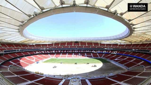 Atlético de Madrid divulga imagens do seu novo estádio; confira