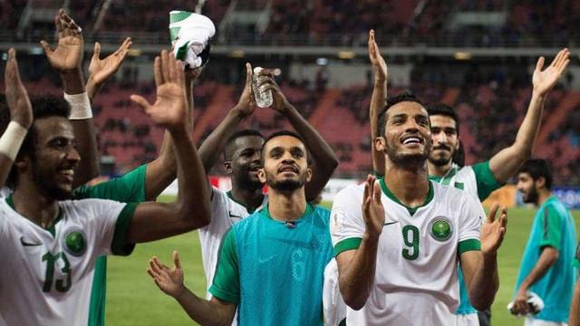 Arábia Saudita se classifica para a Copa do Mundo de 2018