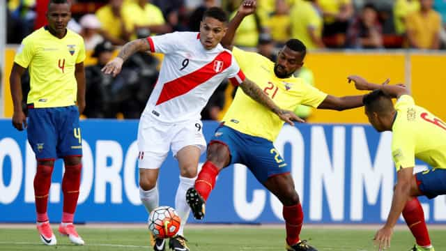 Peru vence o Equador, e chilenos perdem em La Paz