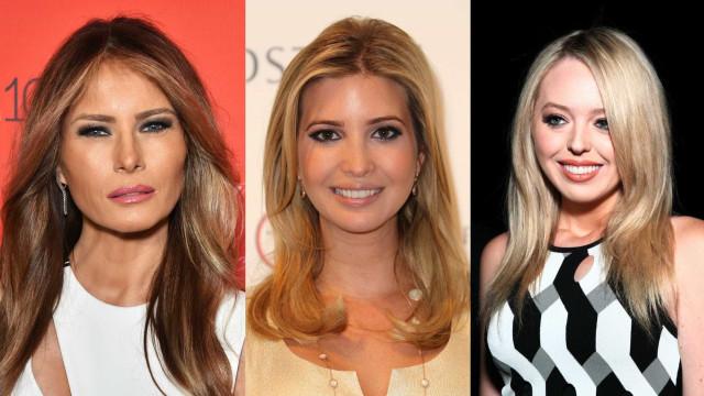 Mulheres de Trump: o estilo das filhas e esposa do presidente dos EUA