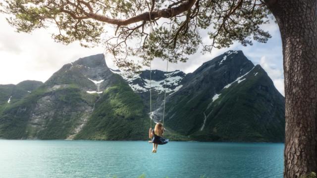 Trandal: um cantinho mágico na Noruega