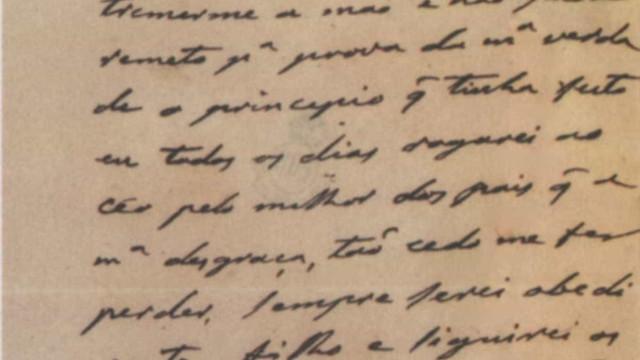 Cartas originais de D. Pedro II são doadas ao Brasil