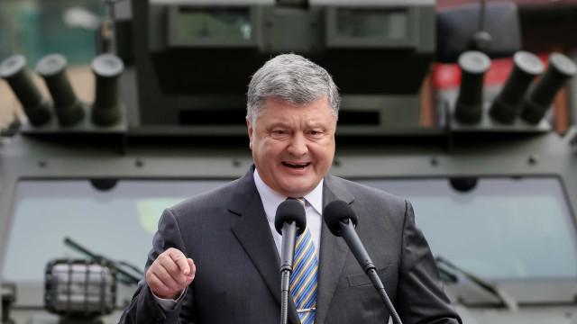 Ucrânia corre risco de perder sua soberania, diz presidente