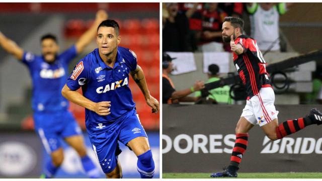 Diego e Thiago Neves disputam prêmio de melhor da Copa do Brasil