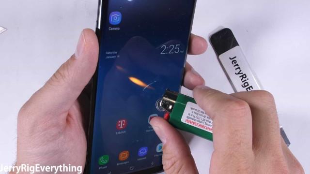 Galaxy Note 8 tem resistência testada; confira o resultado