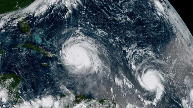 Três furacões estão ativos no Atlântico; José chega à categoria 4