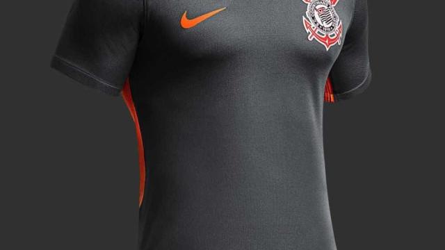 Imagens da nova terceira camisa do Corinthians são divulgadas; veja