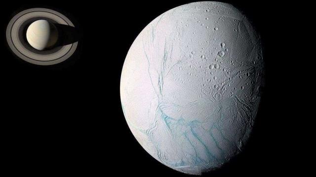 Cassini revela últimas fotos dos gêiseres da lua de Saturno