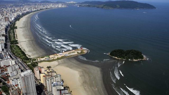 Maré baixa revela tesouro arqueológico em praia de São Paulo; veja