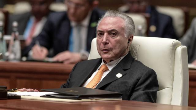 PF: Temer ganhou R$ 31,5 milhões de 'vantagens' no 'quadrilhão' do PMDB