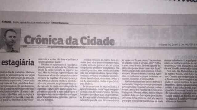 Jornal de Brasília é criticado por crônica controversa sobre estagiária