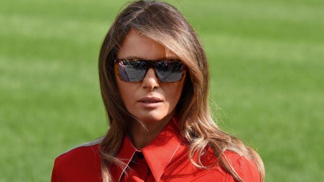 Look de Melania Trump volta a causar rebuliço na internet