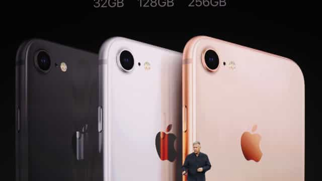 Apple anuncia novo iPhone 8, 8 Plus e iPhone X