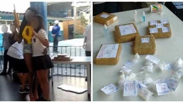 RJ: alunos simulam tráfico de drogas em atividade sobre estilo de vida