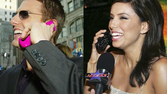 Retrô: os celulares que as celebridades já usaram