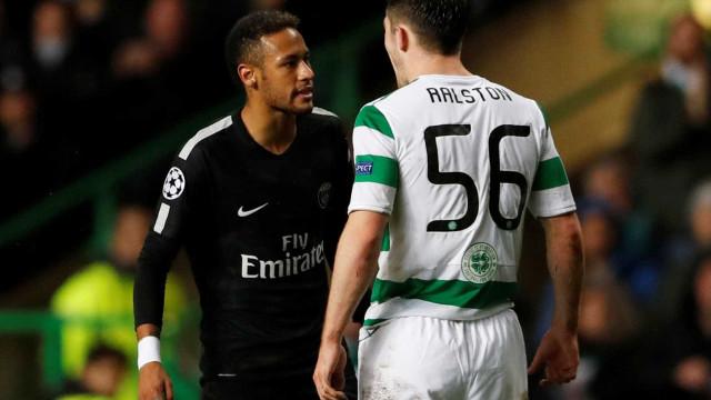 'Se é o caminho que ele quer...', diz zagueiro que discutiu com Neymar