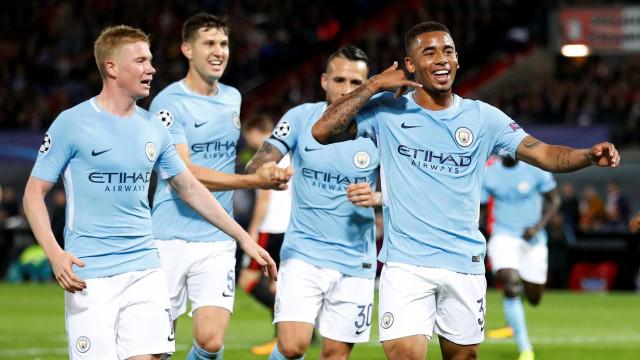 Resumão da Champions: Jesus marca, City goleia, CR7 brilha e muito mais