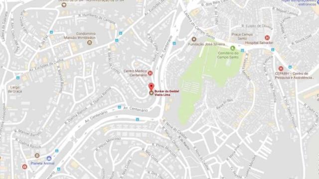 'Bunker do Geddel' é marcado em mapa do Google