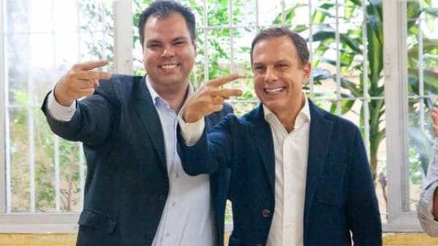 'Eu e Doria governamos a cidade juntos', diz Bruno Covas