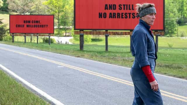 Violento, filme 'Three Billboards' vence prêmio do público em Toronto