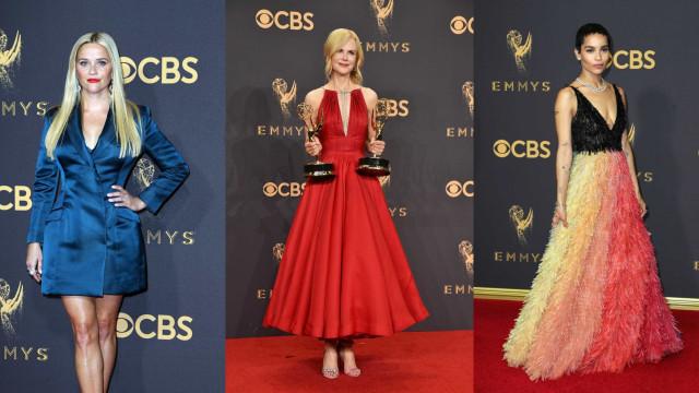 O estilo dos famosos no Emmy Awards 2017; fotos