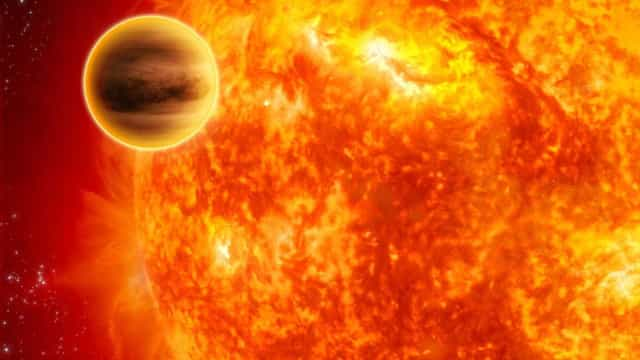 Telescópio Hubble descobre planeta escaldante que 'devora' luz