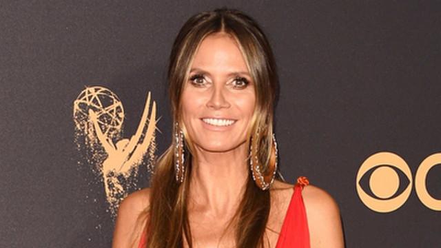 Veja a preparação de Heidi Klum para o Emmy 2017