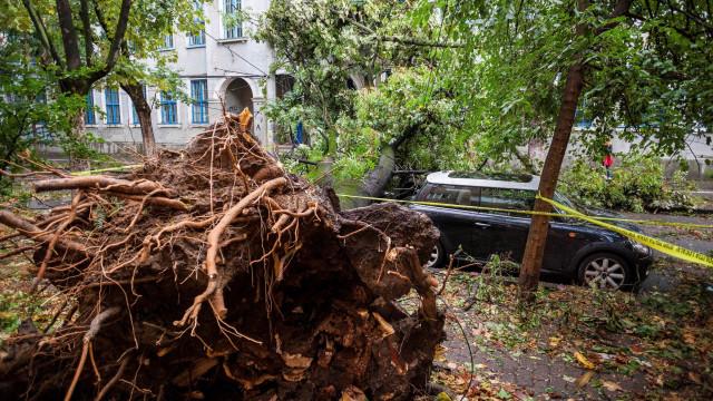 Tempestade deixa 8 mortos e 137 feridos na Romênia; vídeo