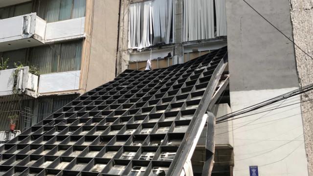 México volta a tremer; veja imagens do novo terremoto que atingiu país