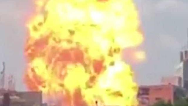 Vídeo mostra explosão gigante após terremoto de magnitude 7.1 no México